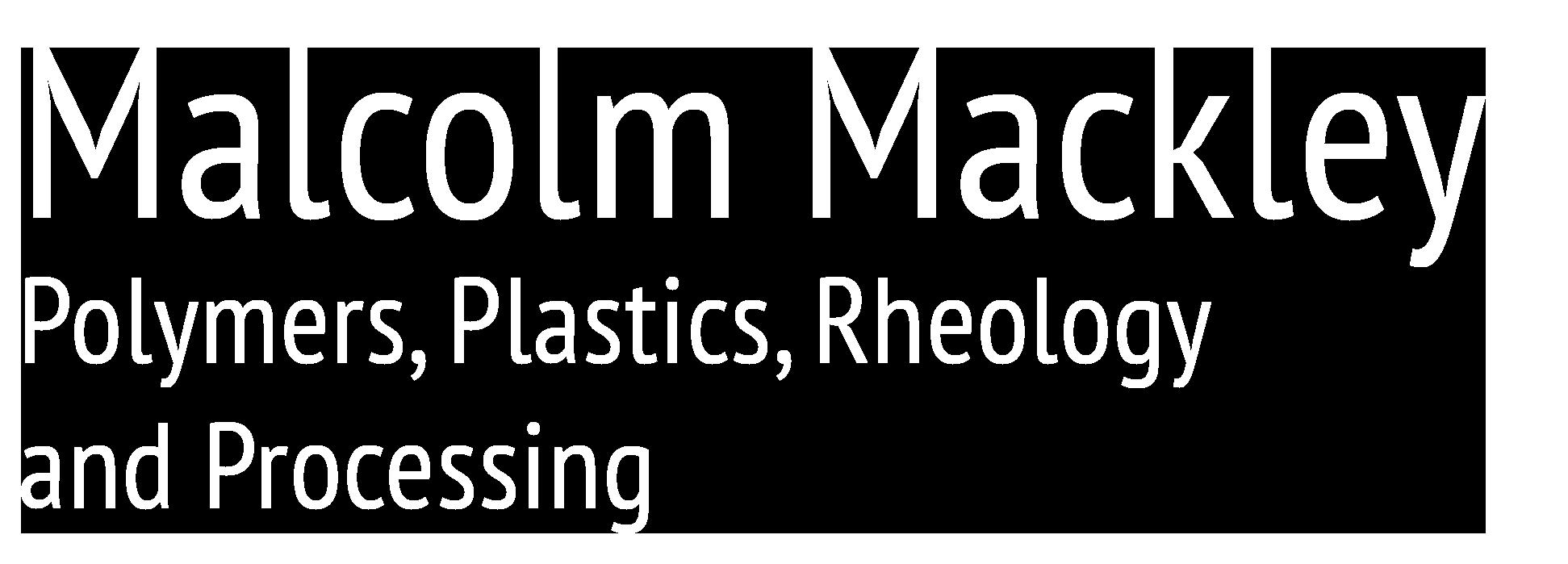 Malcolm Mackley